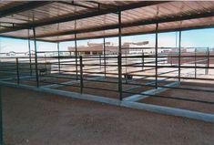 AZ Horse Barn Builder - Custom Equine Facilities / Curt Boyd Barns and Fencing Simple Horse Barns, Metal Horse Barns, Horse Barn Plans, Barn Stalls, Horse Stalls, Horse Horse, Horse Tips, Show Cattle Barn, Farm Plans