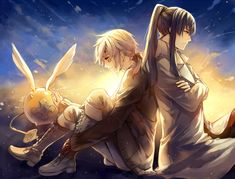 allen and kanda- d. gray-man