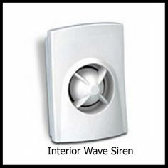 Interior Wave Siren. Honeywell Security, Security Alarm, Wave, Interior, Indoor, Design Interiors, Waves, Interieur, Interiors