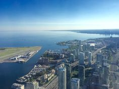 The 6 , formally known as Toronto , is Canada's largest city and the fourth largest in North America. Airplane View, North America, Toronto, Canada, City, Photography, Photograph, Fotografie, Cities