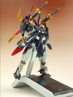 """gunjap: """"HG 1/144 GN-X MR武士道專用 Ver. Really Cool realization! Photoreview Big Size Images http://www.gunjap.net/site/?p=215439 """""""