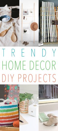 It's that time again…the time of the week that we check out the most trendy and new Trendy Home Decor DIY Projects and believe me…this week does not disappoint. All of these DIY's are fresh and fabulous! We have items like a Copper Coil DIY Vase to Ombre Dyed Baskets…from Woven Cork Trivets to Customized …