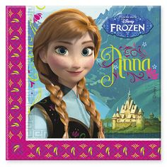 Party Ark's 'Disney Frozen Napkins'