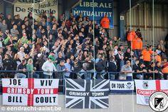 Eendracht Aalst vs Olsa Brakel / Tweede Amateurliga / 2016 - 2017 / Zondag 2 oktober 2016 / Pierre Cornelisstadion / Bezoekers van Grimsby Town