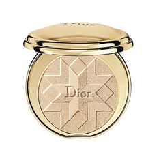 Lighten up with a shimmery luminizing powder like Diorific Illuminating Pressed Powder. Kashuk recommends using rose-gold tones, which look more natural and photograph better than silvery shades.