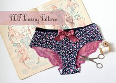 Ohhh Lulu 1303 Lola Brazilian Panties Multi-size Digital PDF Sewing Pattern via Etsy