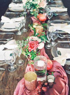 whimsical rustic table setting | Photogarphy: Aga Jones Photography