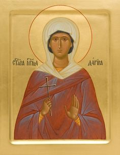 St Daria of Rome - Martyr  /  Image result for Orthodox Icons -