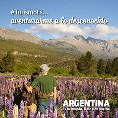 #Turismoes... Aventurarse a lo desconocido!  #DiaMundialDelTurismo #Argentina #WTD2015 #ArgentinaEsTuMundo Date una vuelta! Mountains, Nature, Travel, The World, Tourism, Buenos Aires Argentina, Viajes, Naturaleza, Destinations