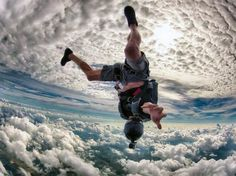 How many should have the courage to be jumped out of a plane?