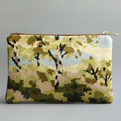 needlepoint pouch