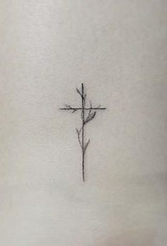 Branches cross tatoo