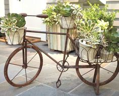 Outdoor Planters, Garden Planters, Garden Art, Outdoor Gardens, Outdoor Decor, Outdoor Living, Indoor Outdoor, Garden Design, Wall Planters