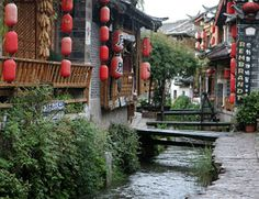 Old town in Lijiang, China