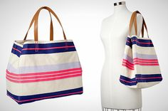 Gap Printed Canvas Bag via Brit + Co