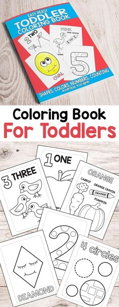 17 Best Toddler coloring book images in 2019 | Coloring ...