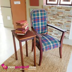 Pretty vintage arm chair ~ www.moregoodstuff.co.za ~ mail: info@moregoodstuff.co.za