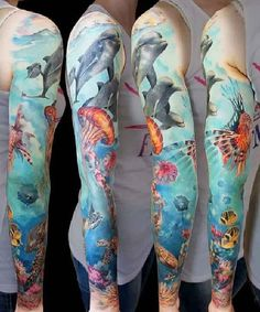 Nature-Sleeves-Tattoos-Andrey Grimmy