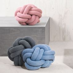 Coussin Knot Rose - Design House Stockholm