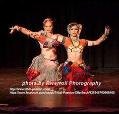 Anita and Kae from FatChanceBellyDance - I love these cholis