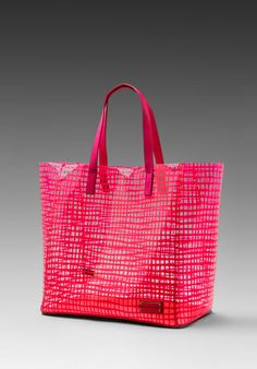 MARC BY MARC JACOBS Checkmate Tote in Diva Pink at Revolve Clothing - Free Shipping!