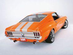 Favorite Mustangs: 1967 Fastback in Orange