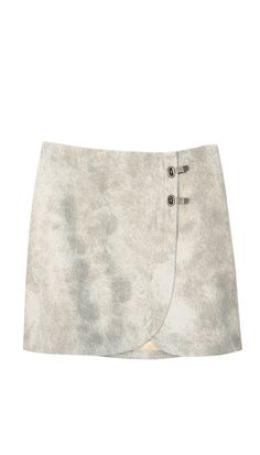 Pony hair is a touchable update on the classic skirt. Pony Hair Mini Skirt.