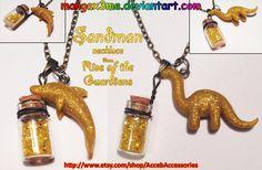 ROTG necklace Sandman NEW VERSION by MangaX3me.deviantart.com on @deviantART