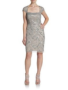 Beaded Adrianna Papell Saks Off Fifth on sale for $239