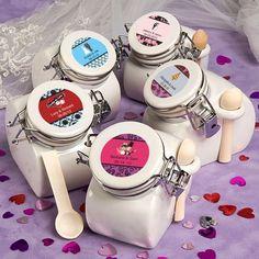 Personalized Ceramic Jar Favors