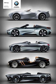 BMW Rapp Anniversary Concept. GINA, i8, Vision ConnectedDrive, 328 Hommage, Rapp Concept