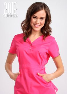 The koi Justine Top is one of our best sellers! Because it is a longer length top with makes any woman's waist look amazing. The koi Justine top is used by women looking for nursery uniforms, childcare uniforms, dental uniforms or dental scrubs. Healthcare Uniforms, Medical Uniforms, Spa Uniform, Scrubs Uniform, Cute Scrubs, Koi Scrubs, Dental Scrubs, Medical Scrubs, Scrubs Outfit