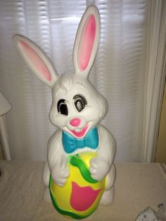 Blowmold 22 inch Easter Bunny inches Empire