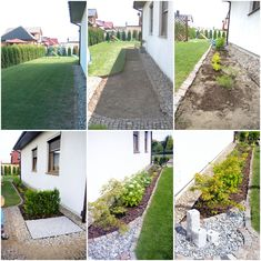 OGRODOWE METAMORFOZY, outdoor before & after, how to create a garden, beautiful garden Beautiful Gardens, Garden Ideas, Sweet Home, Sidewalk, Anna, Home And Garden, Gardening, Create, Blog