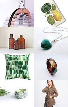 Mother Earth by Yael Rosen Ben Schachar on Etsy--Pinned with TreasuryPin.com #green #earthy #ochre #etsy #treasury #natural #brown
