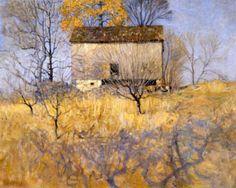 """""""View of Barn Behind Andress Farm""""  N. C. Wyeth"""