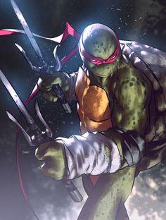 TMNT // artwork by Daniel M. Chavez The Ninja Turtles: Donatello, Raphael, Leonardo & Michellangelo! Ninja Turtles Art, Teenage Mutant Ninja Turtles, Arte Nerd, Nerd Art, Arte Dc Comics, Cartoon Icons, Anime, Comic Art, Comic Book