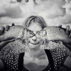Ojos de pez.