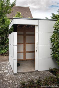 design gartenhaus / Fahrradhaus _gart drei lime green