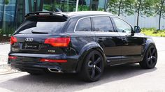 Audi Q HD Wallpapers Automotive News Audi Q7, Audi Cars, Wide Body, Automotive News, Car Tuning, Car Wallpapers, Cars And Motorcycles, Luxury Cars, Sport Cars