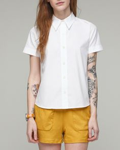 Thom's Shirt In White