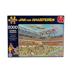 Jan Van Haasteren  Football Crazy 2000 Piece Jigsaw Puzzle * Be sure to check out this awesome product.Note:It is affiliate link to Amazon. #shoutoutback
