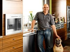 Micheal Symon: I really like him when he competed on Iron Chef America and a host on The Chew!