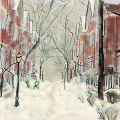 The Laneway in Winter