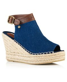 Superdry Mia Espadrille Wedge Sandals on sale along with best prices on many other surf skate and fitness products. Blue Wedge Sandals, Blue Espadrilles, Blue High Heels, Espadrille Wedge, Shoes Sandals, Sandals For Sale, Superdry, Women Wear, Wedges