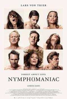 Atores do filme aparecem tendo orgasmos em cartaz de Nymphomaniac, novo filme de Lars Von Trier.