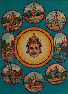 Ravi Varma Press - Nav Grah | Oleograph on paper | Tastemaker: Cyrus Oshidar | The Story
