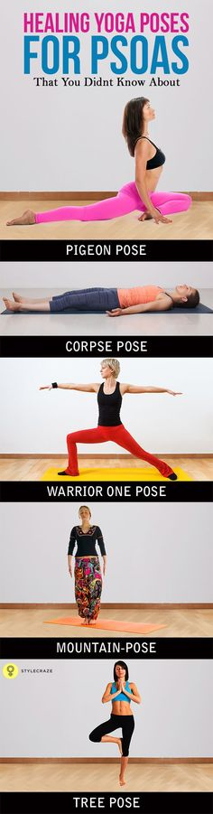 Looking for yoga poses to open up your psoas?