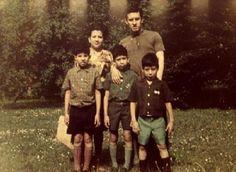 Roque Dalton y familia