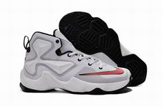 new concept 71066 ffb12 Find Nike LeBron 13 White Red Grade School Shoes Super Deals online or in  Pumarihanna. Shop Top Brands and the latest styles Nike LeBron 13 White Red  Grade ...